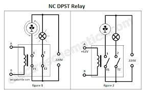 double pole light switch single pole light switch wiring diagram luxury dpst relay double