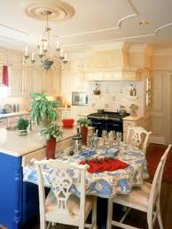 kitchen contemporary blue and yellow kitchen decorating ideas