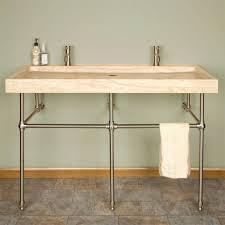 Bathroom Sink Faucets Canada Sinks Trough Bathroom Sink Faucet Three Faucets 2 Trough Sink