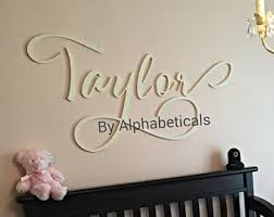 nursery letters baby room letters name sign wood letters