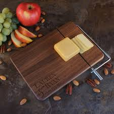 personalized cheese cutting board personalized cheese cutting board with wedding monogram design