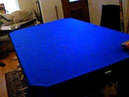 Felt Pool Table by Pool Table Installation Part 9 Stretching The Felt Mpeg2video
