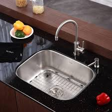 kitchen sink and faucet combinations stainless steel kitchen sink combination kraususacom pictures and