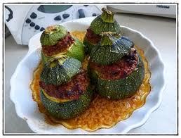 cuisiner courgette ronde courgettes rondes farcies à la viande version avec thermomix