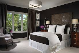 Black Painted Walls Bedroom Bedroom Cool Feature Light Bedroom Light Wall And Light Ceiling