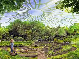self sustaining garden urban farming utopia in india produces more energy than it uses