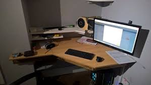 secret storage floating desk 18 steps with pictures