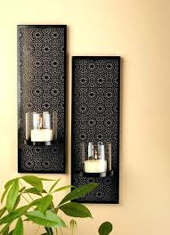 Glass Wall Sconces For Candles Sconce Best 25 Candle Wall Sconces Ideas On Pinterest Within