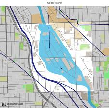 Blue Line Chicago Map by Map Of Building Projects Properties And Businesses In Goose