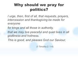 prayer for politics and government scriptures and prayer points