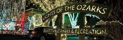 fayetteville square christmas lights lights of the ozarks