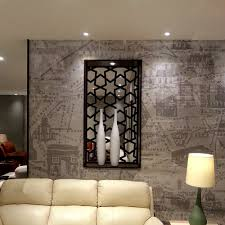 moroccan style laser cut metal window screen and room infill