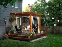 Patio Designs For Small Backyard Decor Small Backyard Liwenyun Me