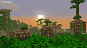 Jungle Treehouse Complex Map Download  Survival Mode  Minecraft
