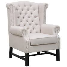 linen club chair fairfield linen club chair by tov furniture buy online at best