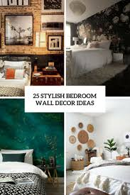 bedroom wall decorating ideas 25 stylish bedroom wall decor ideas digsdigs
