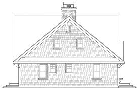 House Plan Craftsman Plans Cedar View Associated Designs With Rear