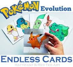 paper toys evolution endless cards hattifant