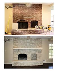 How To Update Brick Fireplace by Best 25 Fireplace Refacing Ideas On Pinterest White Fireplace