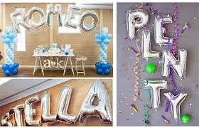 New Year Party Decorations by Aliexpress Com Buy 16 Inch Silver Alphabet Letters Balloons