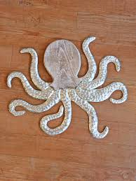 wood and metal wall octopus home decor new arrivals