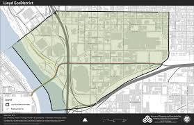City Of Portland Maps by Lloyd District Map U2013 Lloyd Ecodistrict