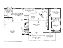 ranch plans ranch style house plan 4 beds 3 00 baths 2148 sq ft plan 437 27