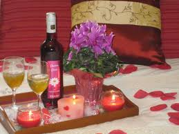 Rose Petals Room Decoration Outstanding Romantic Bedrooms With Candles And Flowers
