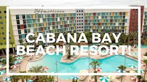 cabana bay beach resort tour including family suites universal