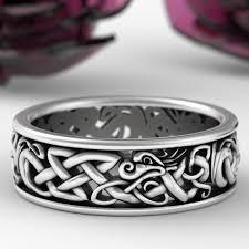 celtic dragon rings images Celtic animal rings celticeternity jpg