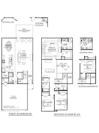 Floor Plans For Narrow Lots by 100 Narrow Lot Floor Plans 299 Best Small House Plans