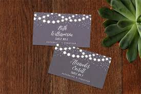 folded table place cards wedding table cards garden lights wedding place flat folded card