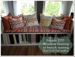 Bookshelf Bench A Simple Comfy And Very Sturdy Window Seat Dyi Crafty