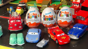 pixar cars 3 kinder surprise eggs delivered by the motormax