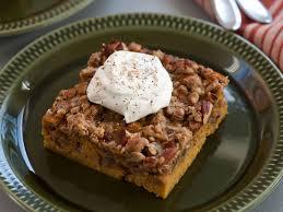 best thanksgiving dessert recipes food network pumpkin crunch