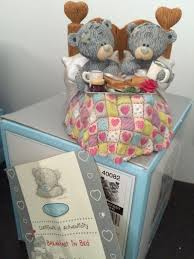 breakfast in bed boxed limited edition me to you figurine