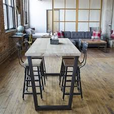 bar high dining table brooklyn bistro table bar height table custom furniture and urban