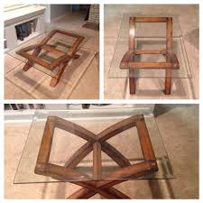 54 x 54 glass table top find more two tables glass top coffee table with wood base 54 x