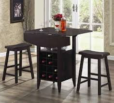 bar table with storage base great contemporary dining table with wine storage residence designs