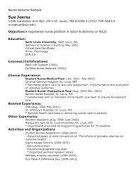 Nursing Resume Examples With Clinical Experience by Labor And Delivery Resume Free Resume Example And Writing Download