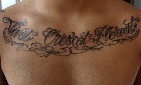 tattoo letters on back docoments ojazlink