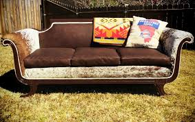 Cow Leather Sofa Vintage Cowhide Leather Sofa Sold Dirt Revivals