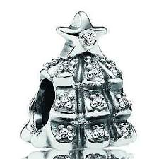 pandora sterling tree of lights with clear cz charm k 90 pandora