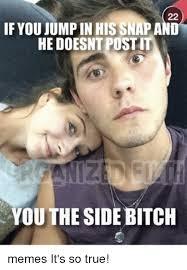 Side Bitches Meme - 25 best memes about side bitches meme side bitches memes