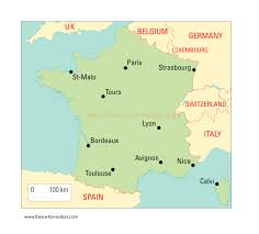 Toulouse France Map by France Map