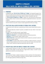 ufficio per l impiego rovigo carta dei servizi pubblici per l impiego pdf