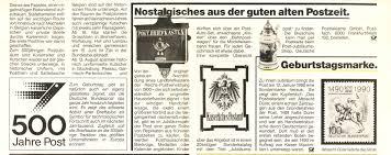 Post Bad Cannstatt Post Und Telekommunikation Allgemeines 1989 Postreform