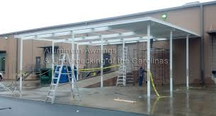 How To Install An Awning Aluminum Awnings U0026 Under Decking Nc Sc