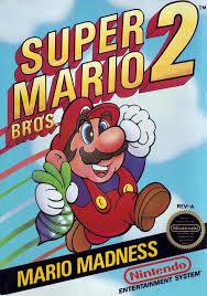 book super mario bros 2