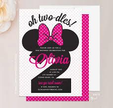 minnie mouse invitations minnie mouse birthday invitations weareatlove